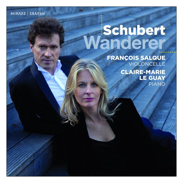 Album cover for Schubert: Wanderer by Franz Schubert, François Salque, Claire-Marie Le Guay