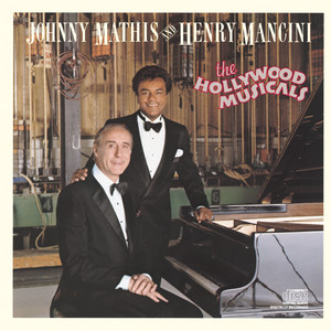 Johnny Mathis Whistling away the Dark cover