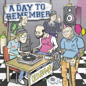 Old Record album