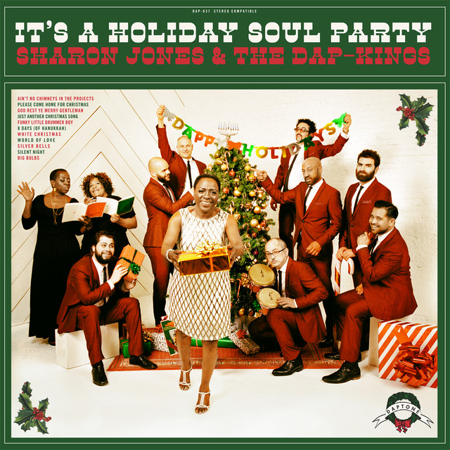 Sharon Jones and the Dap-Kings It's A Holiday Soul Party album cover