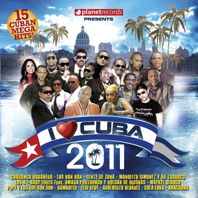 Various Artists I Love Cuba 2011 album cover