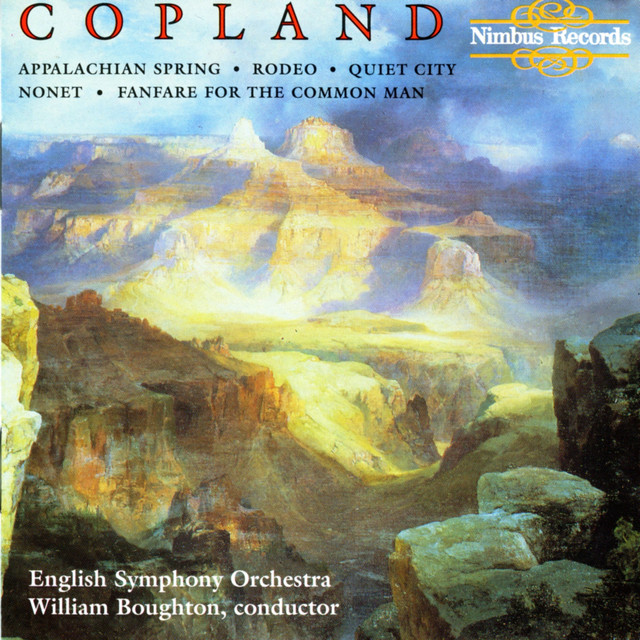 Copland: Appalachian Spring, Rodeo, Quiet City, Nonet & Fanfare for the Common Man Albumcover