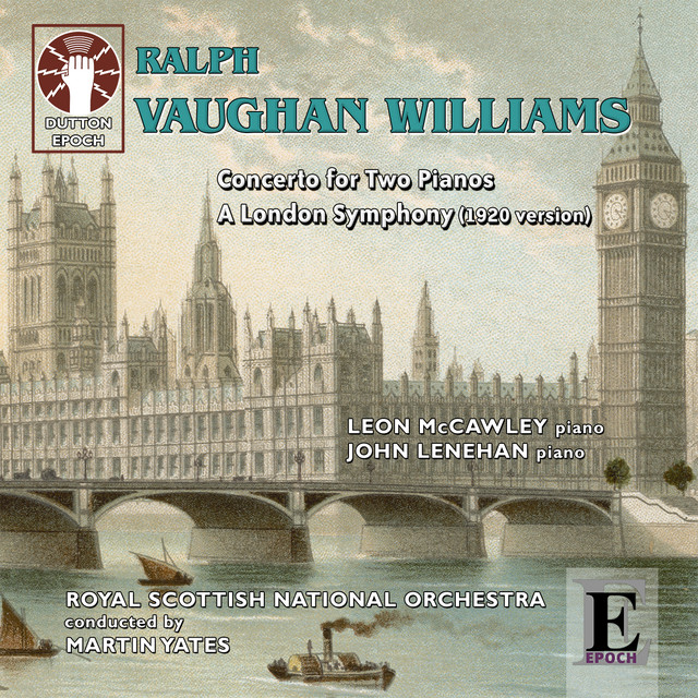 Ralph Vaughan Williams: A London Symphony (1920 Version) Albumcover