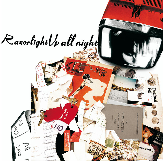 Album cover for Up All Night by Razorlight