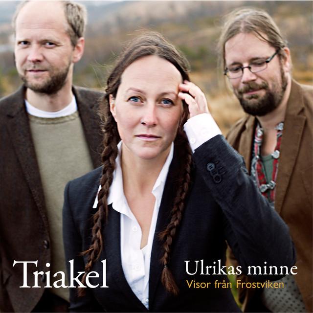 Skivomslag för Triakel: Ulrikas Minne - Visor Från Frostviken
