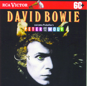 David Bowie Narrates Peter And The Wolf Albumcover