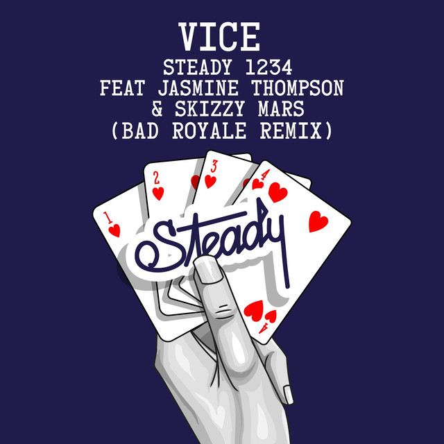 Steady 1234 (feat. Jasmine Thompson & Skizzy Mars) [Bad Royale Remix]