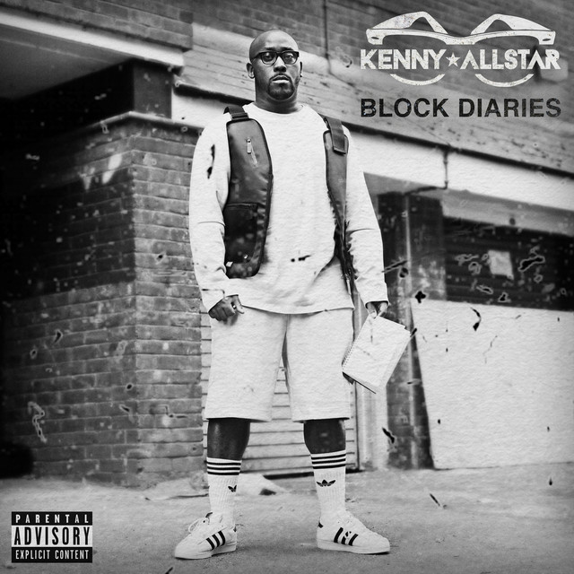 Album cover for Block Diaries by Kenny Allstar
