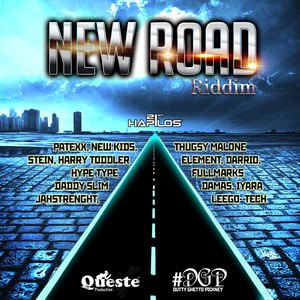 New Road Riddim Albumcover