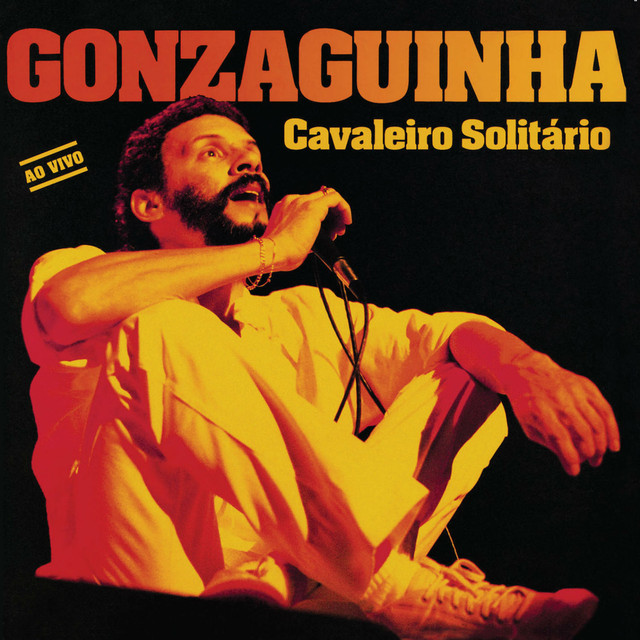 Gonzaguinha Cavaleiro Solitario Ao Vivo album cover