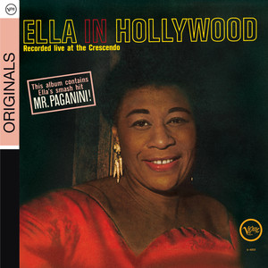 Ella In Hollywood (Live At The Crescendo) Albumcover