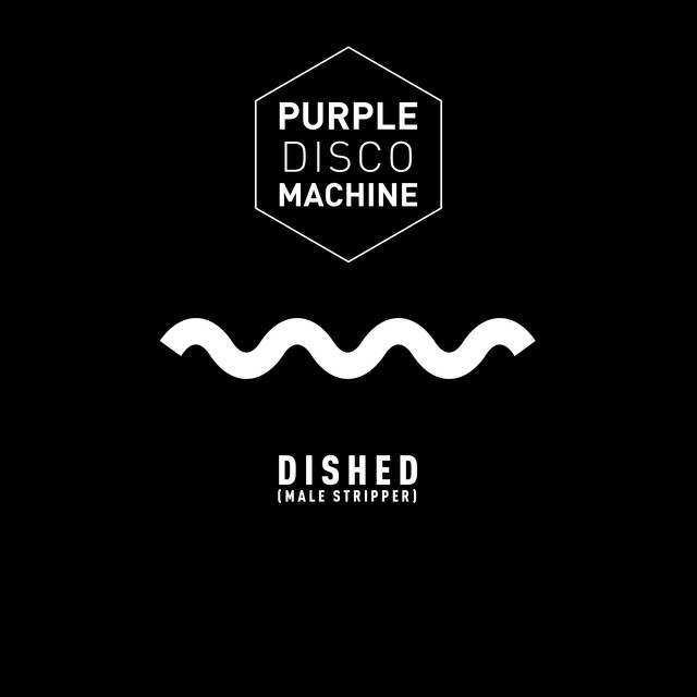 Purple Disco Machine - Dished (Male stripper)
