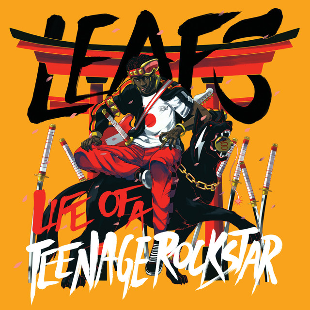 Album cover for Life Of A Teenage Rockstar by Leafs