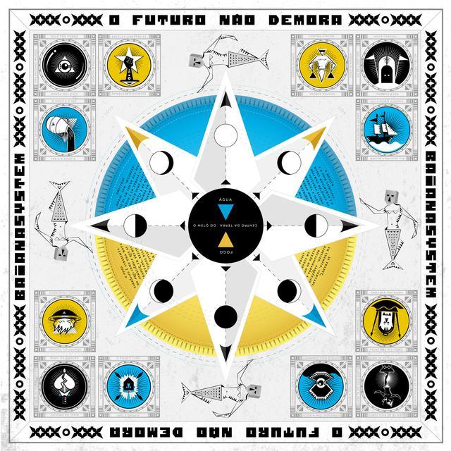 Album cover for O Futuro Não Demora by BaianaSystem