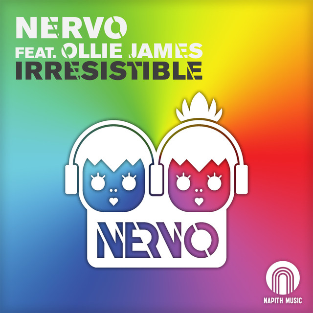 NERVO, Ollie James Irresistible album cover