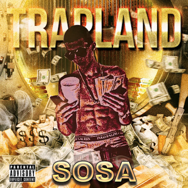 Album cover for Trap land Part One (Chopped & Screwed) by Sosa