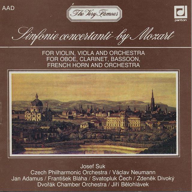 Mozart: Sinfonie concertanti Albumcover