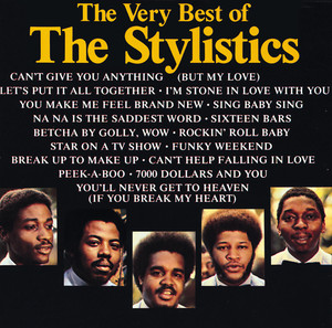 The Best Of The Stylistics Albumcover