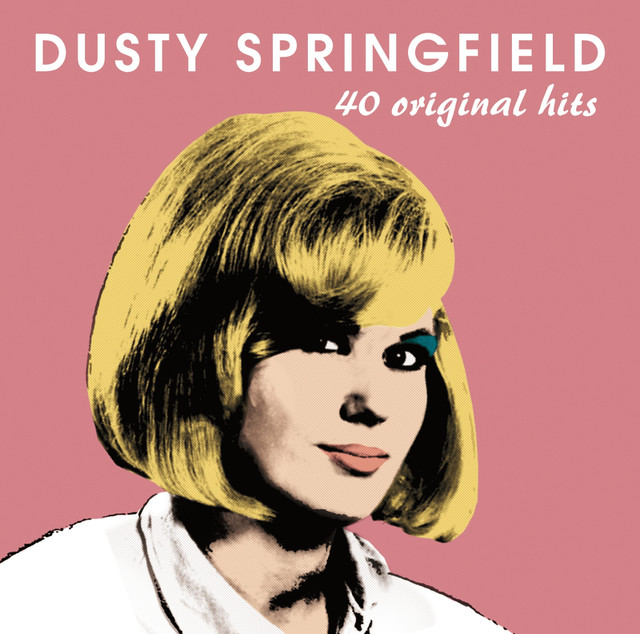 Dusty Springfield 40 Original Hits album cover