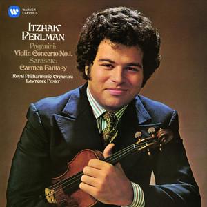 Paganini: Violin Concerto No. 1 - Sarasate: Carmen Fantasy Albumcover