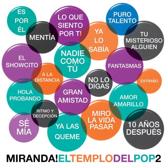 Album cover for El Templo del Pop, Vol. 2 by Miranda!