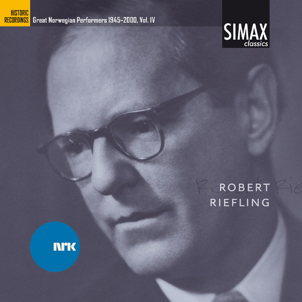 Robert Riefling ¿ Great Norwegian Performers 1945-2000, Vol. Iv Albumcover