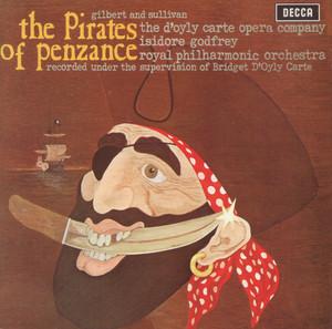 Gilbert & Sullivan: The Pirates of Penzance Albumcover