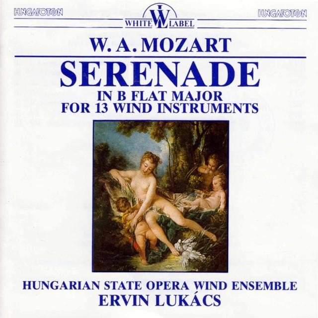 Mozart: Wind Serenade Albumcover