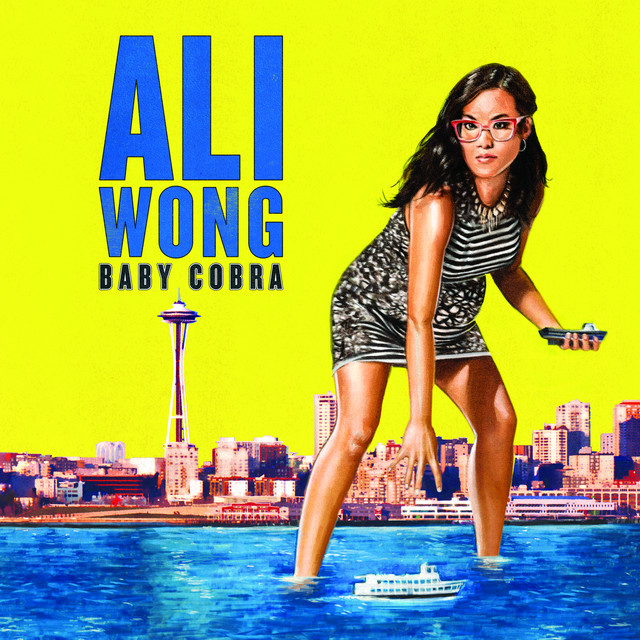 Album cover for Baby Cobra by Ali Wong