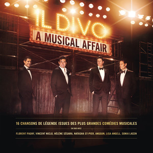 Barbra Streisand, Il Divo, William Ross The Music of the Night - Live in Concert cover