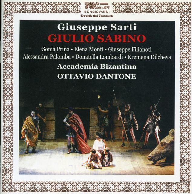 Sarti: Giulio Sabino (Live)