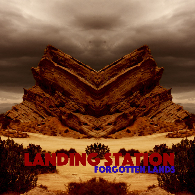Album cover for Forgotten Lands by Landing Station
