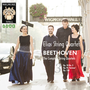 Beethoven: The Complete String Quartets, Vol. 3 - Wigmore Hall Live Albümü