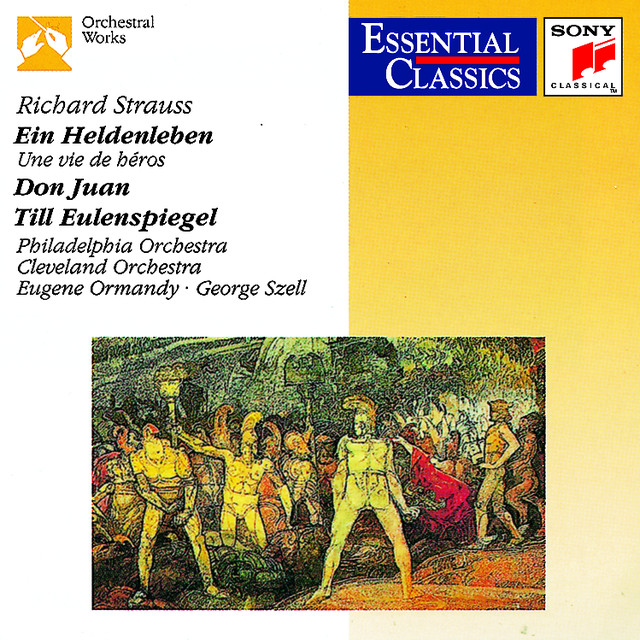 Strauss: Ein Heldenleben; Don Juan; Til Eulenspiegel Albumcover