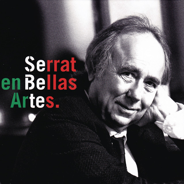 Serrat en Bellas Artes (Directo México) Albumcover