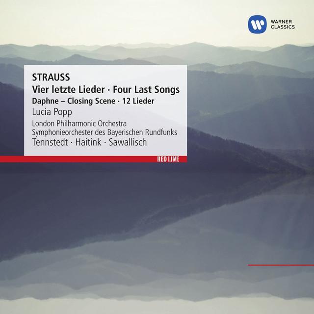 Strauss: Vier letzte Lieder - Four Last Songs [Daphne - Closing Scene - 12 Lieder] Albumcover