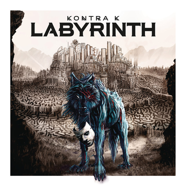 Album cover for Labyrinth by Kontra K