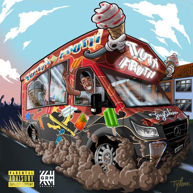 Album cover for Tutti Frutti by Jay Silva