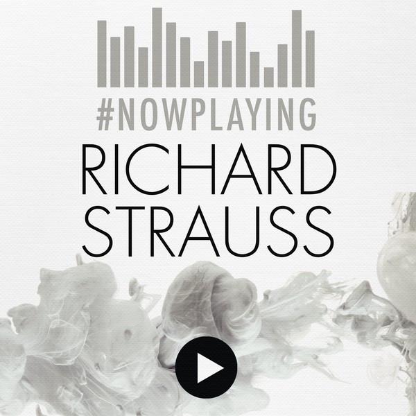 #nowplaying Richard Strauss Albumcover