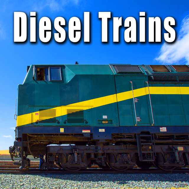 Diesel Locomotive Engine, Sounding Steam Whistle Horn, a