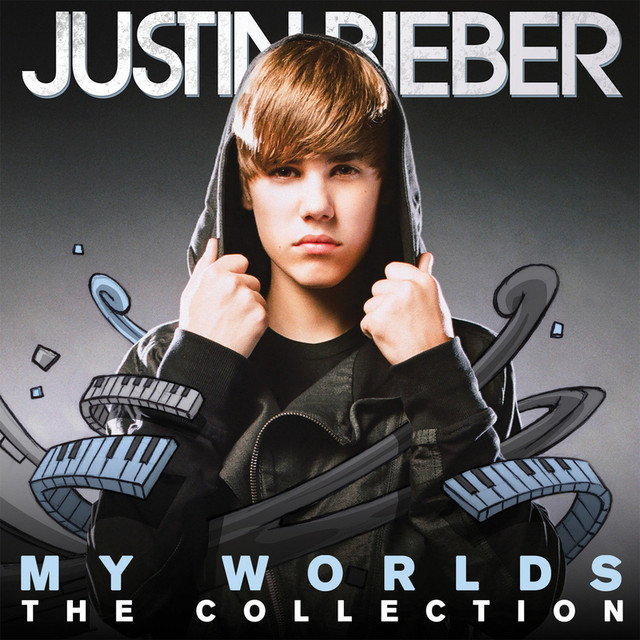 Justin Bieber My Worlds - The Collection (International Package) album cover