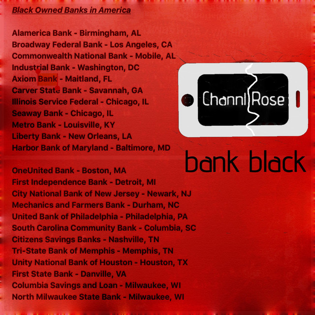 Bank Black by Channl Rose on Spotify