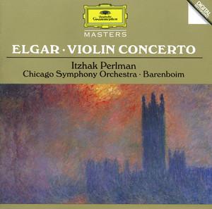 Elgar: Violin Concerto / Chausson: Poème Albumcover