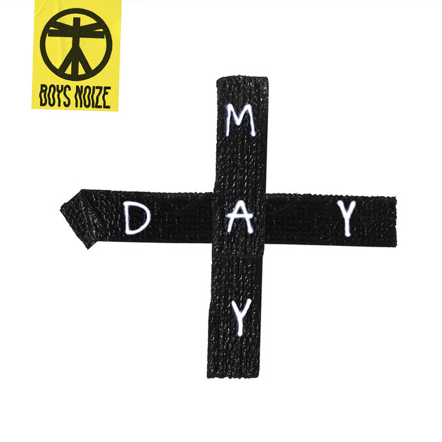 Album cover for Mayday by Boys Noize