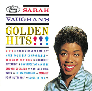 Sarah Vaughan Autumn in New York cover