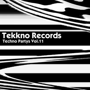 Techno Partys Vol.11 Albumcover