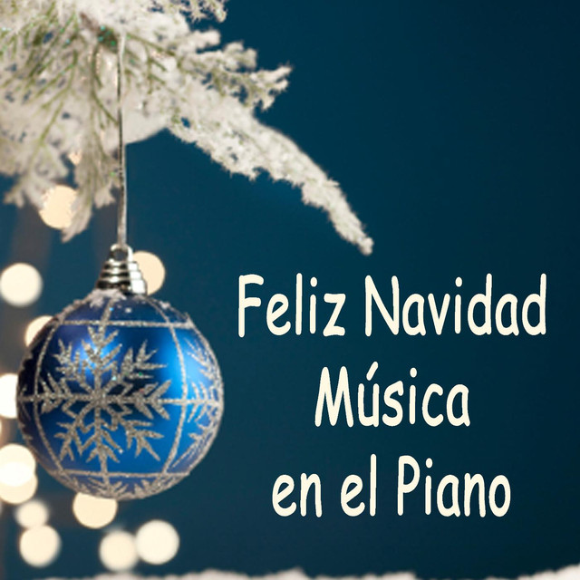 Feliz Navidad Música En El Piano