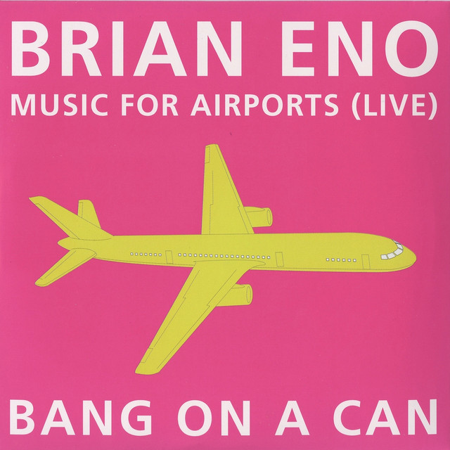 Music for Airports: Live Albumcover