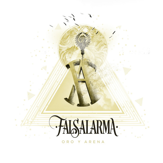 Album cover for Oro y Arena by Falsalarma
