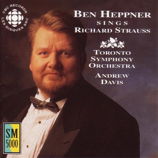 Ben Heppner Sings Richard Strauss Albumcover